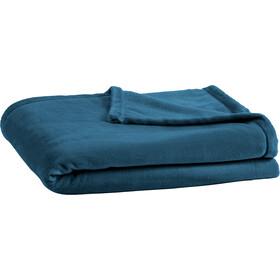 Lafuma Mobilier Flocon Coperta in pile 130x180cm, blu